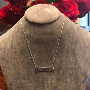 Jewelry - Minimalist 925 silver necklace